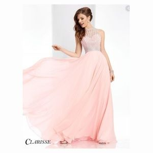 CLARISSE // Blush Sweetheart Gown // PROM // SZ 4
